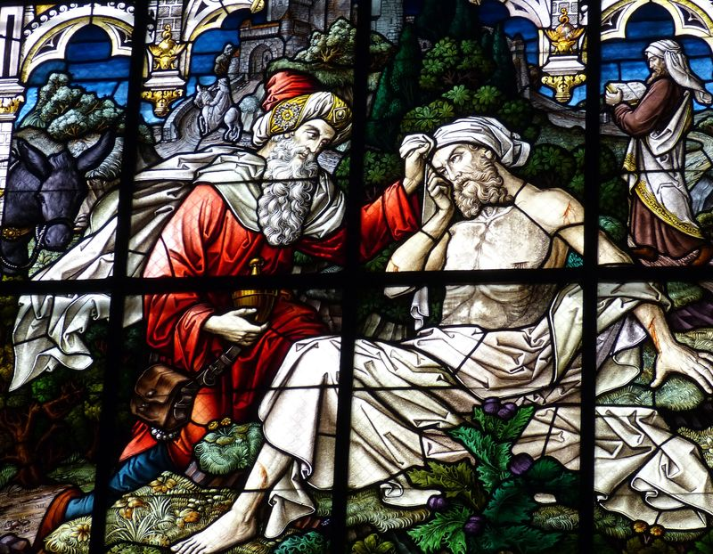 Photo of Good Samaritan Stained Glass