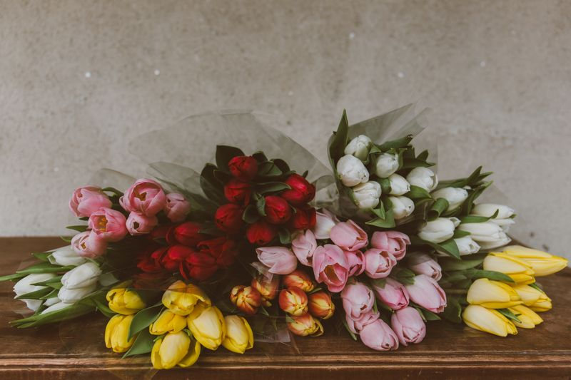 Photo of Bouquets of Flowers