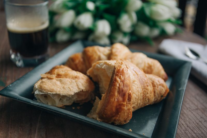 Photo of Croissants on Plate