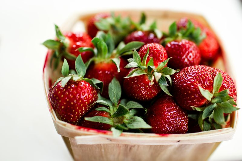 Photo of Bowl of Strawberries