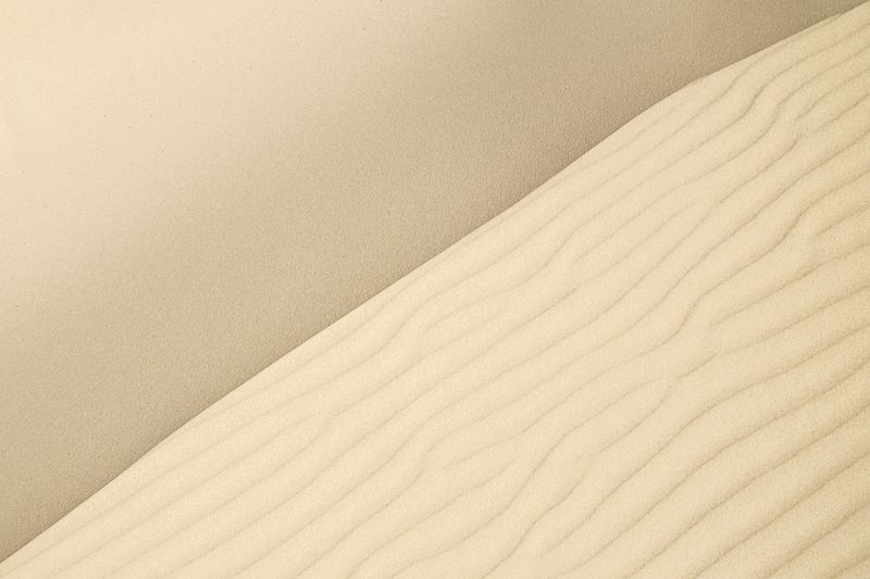 Photo of Abstract Sand Dune