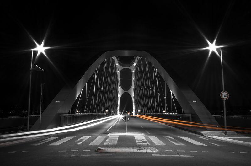 Photo of East Harbor Bridge at Night