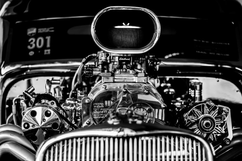 Photo of Vintage Car Motor