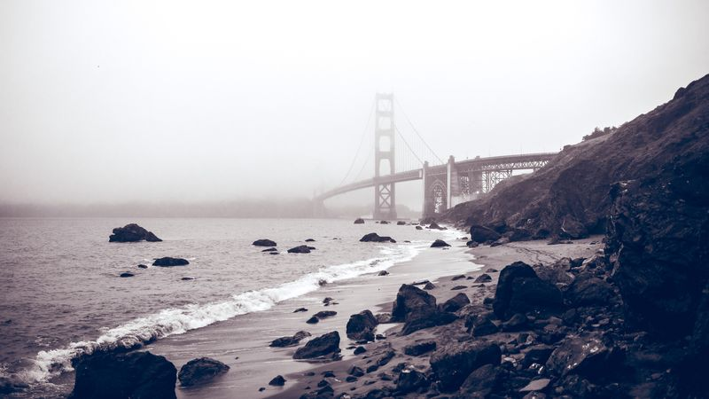 Photo of Rocky Shore in Bay Area