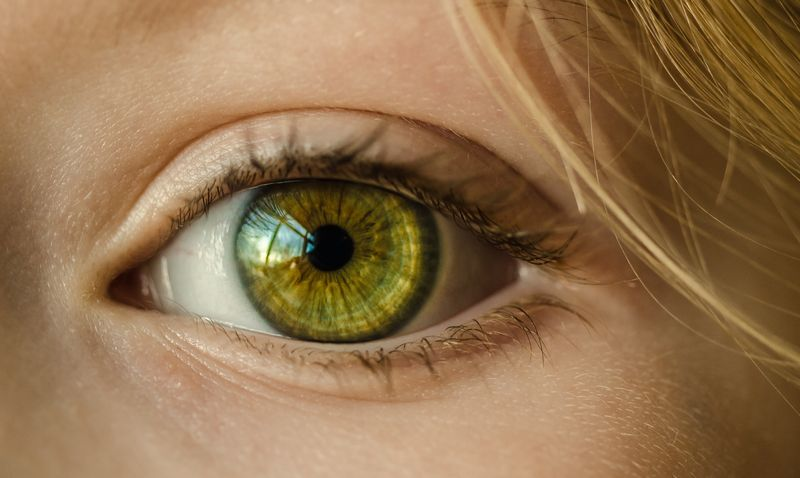 Photo of Woman with Green Eyes