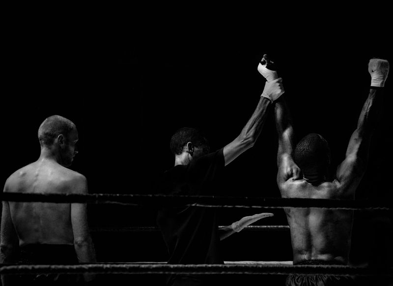 Photo of Boxing Champion
