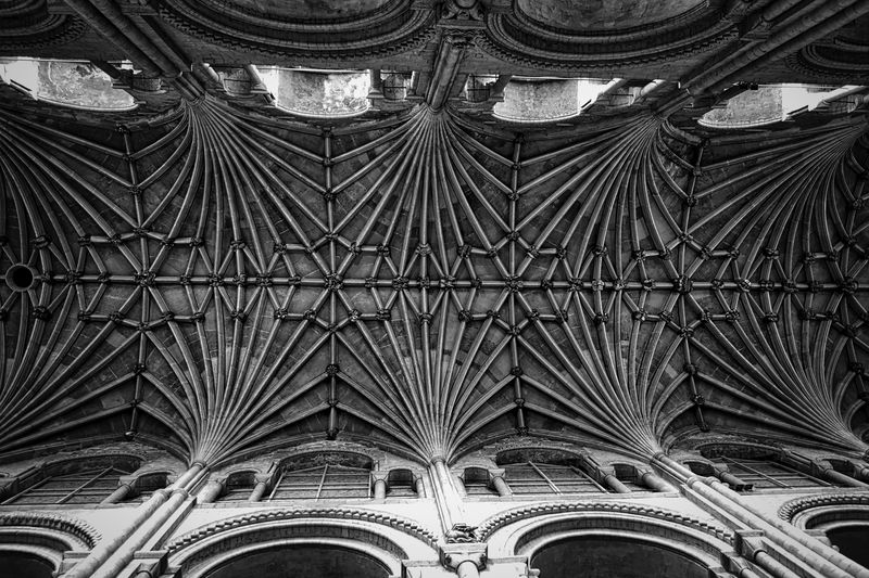 Photo of the Norwich Cathedral Ceiling