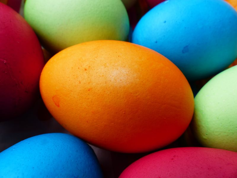 Photo of Colored Eggs