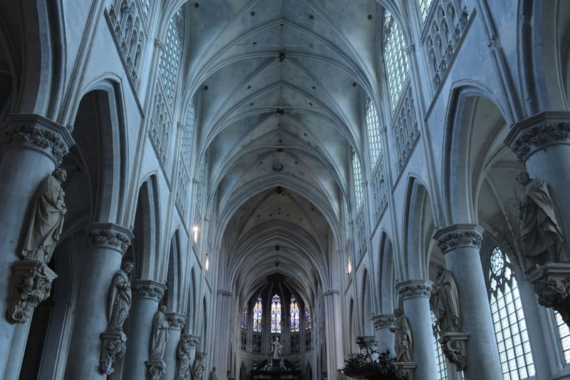 Photo of Cathedral Ceiling
