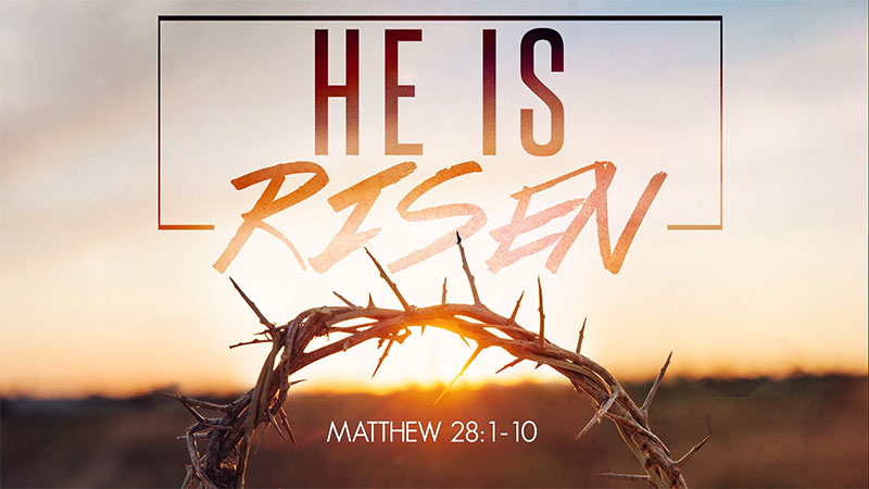 He is Risen Intro Video