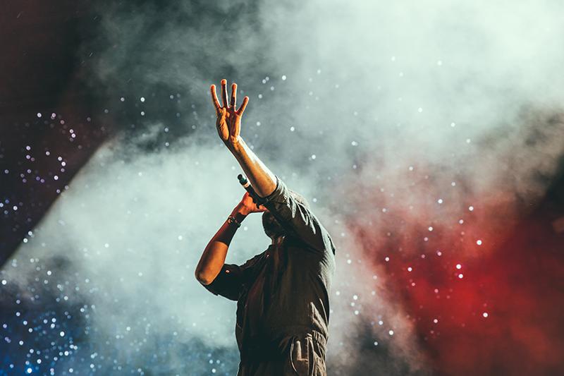 Photo of Man Leading Worship