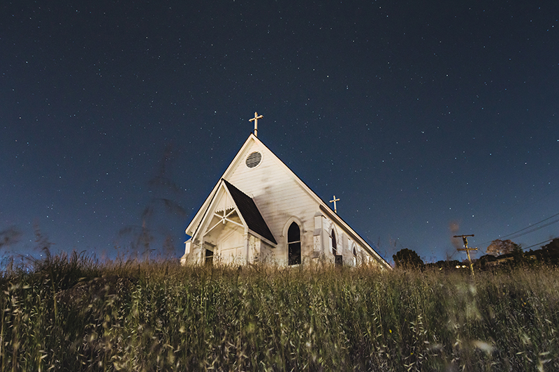 Photo of Church at Night