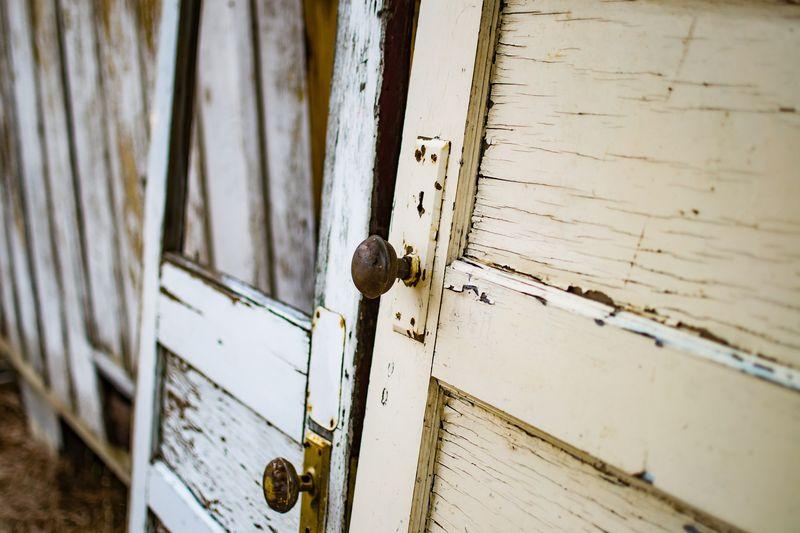 Photo of Old Wooden Doors