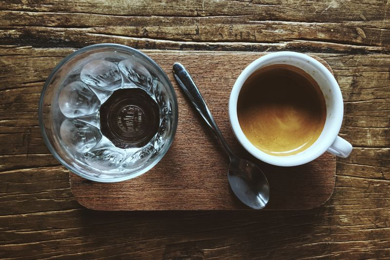Photo of Espresso and Water