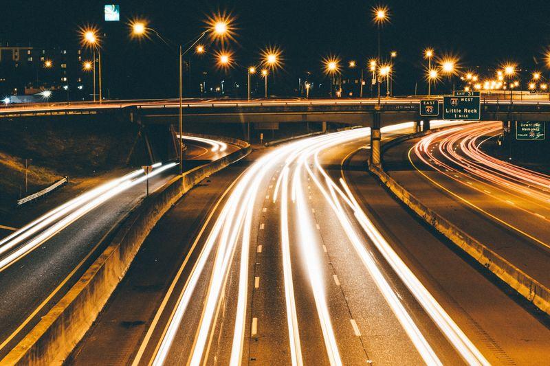 Photo of Traffic Lights at Night