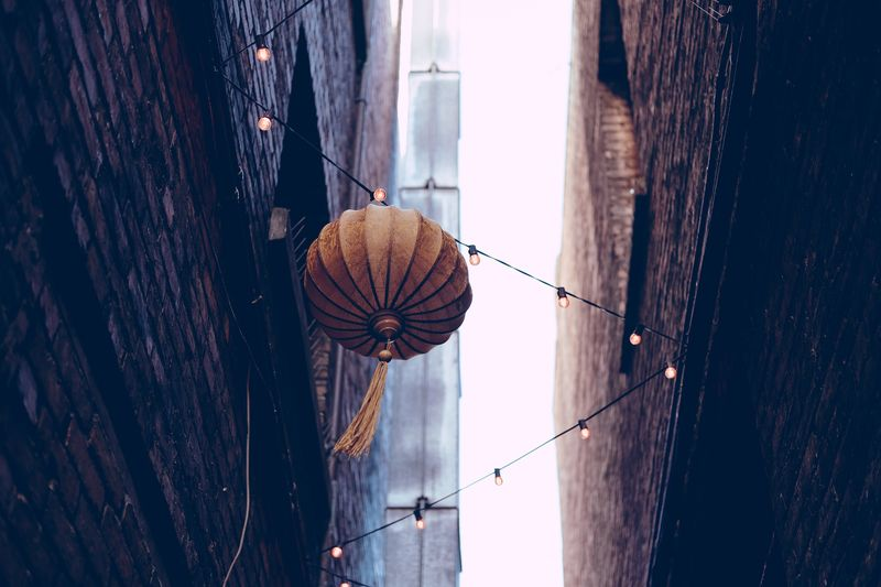 Photo of Paper Lantern and Lights