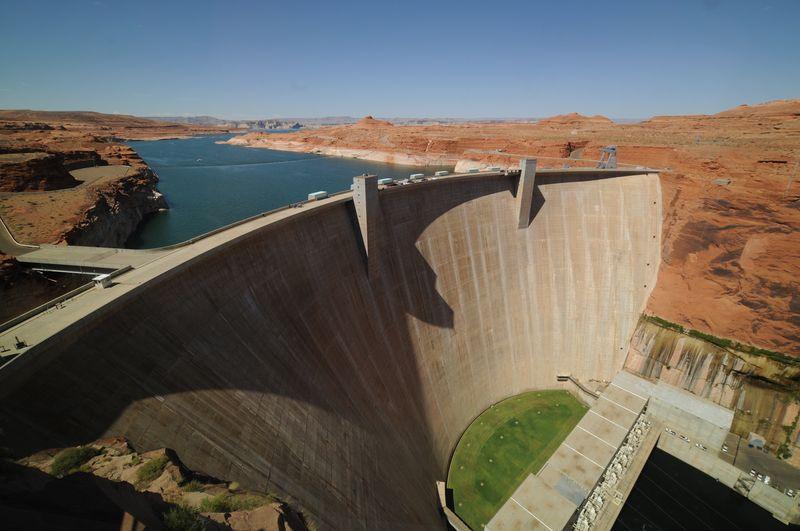 Photo of Glen Canyon Dam