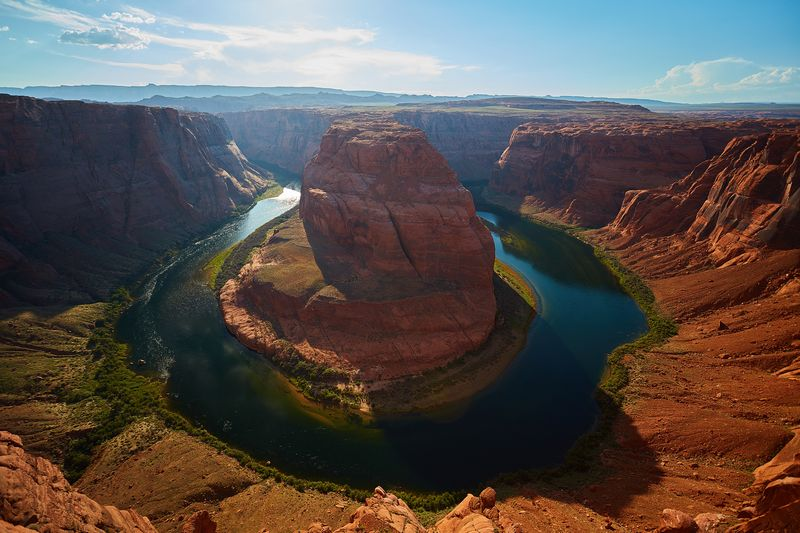 Photo of River in Canyon