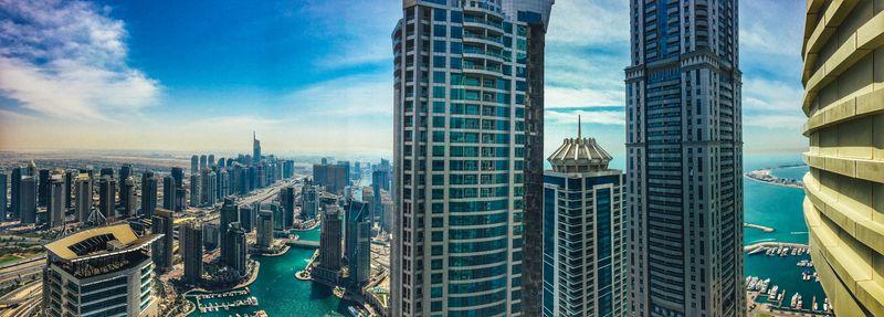 Photo of Buildings in Dubai Skyline