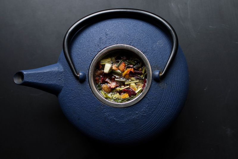 Photo of Vegetable Soup in Kettle