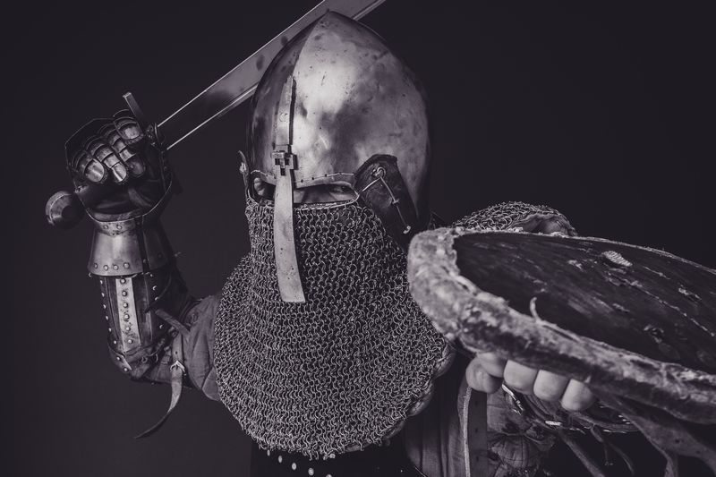 Photo of Medieval Knight in Armor