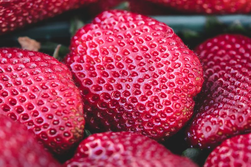Photo of Strawberries Closeup