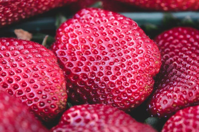 Photo of Strawberries Closeup