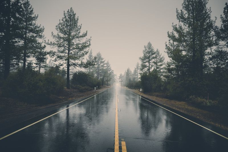 Photo of Rainy Road