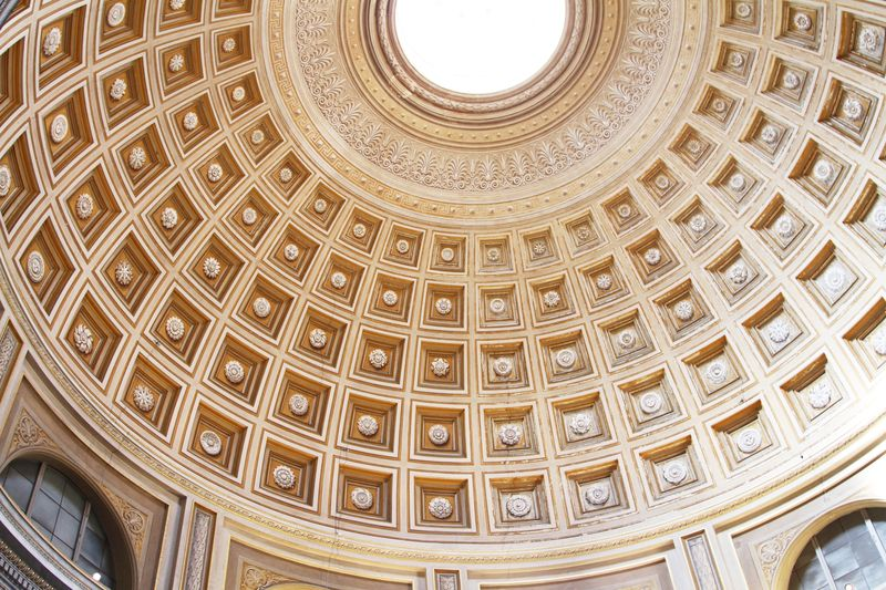 Photo of Vatican City Building Ceiling