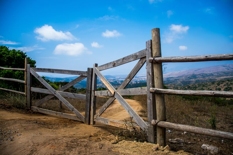 Photo of Gate and Countryside