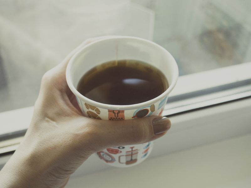 Photo of Coffee in Hand