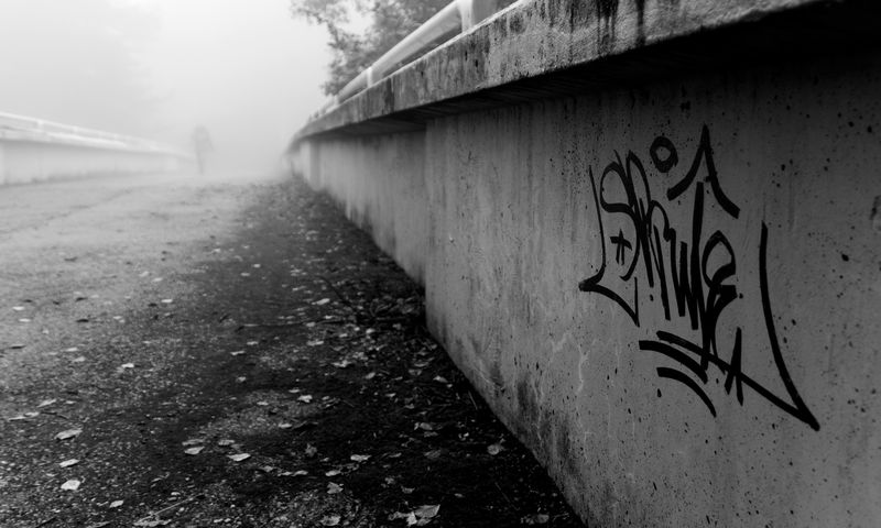 Photo of Graffiti on Bridge