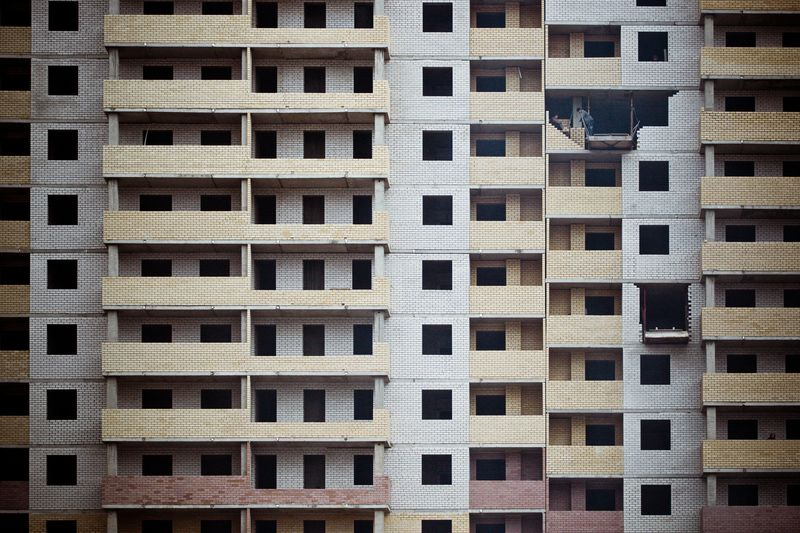 Photo of Brick Apartment Building