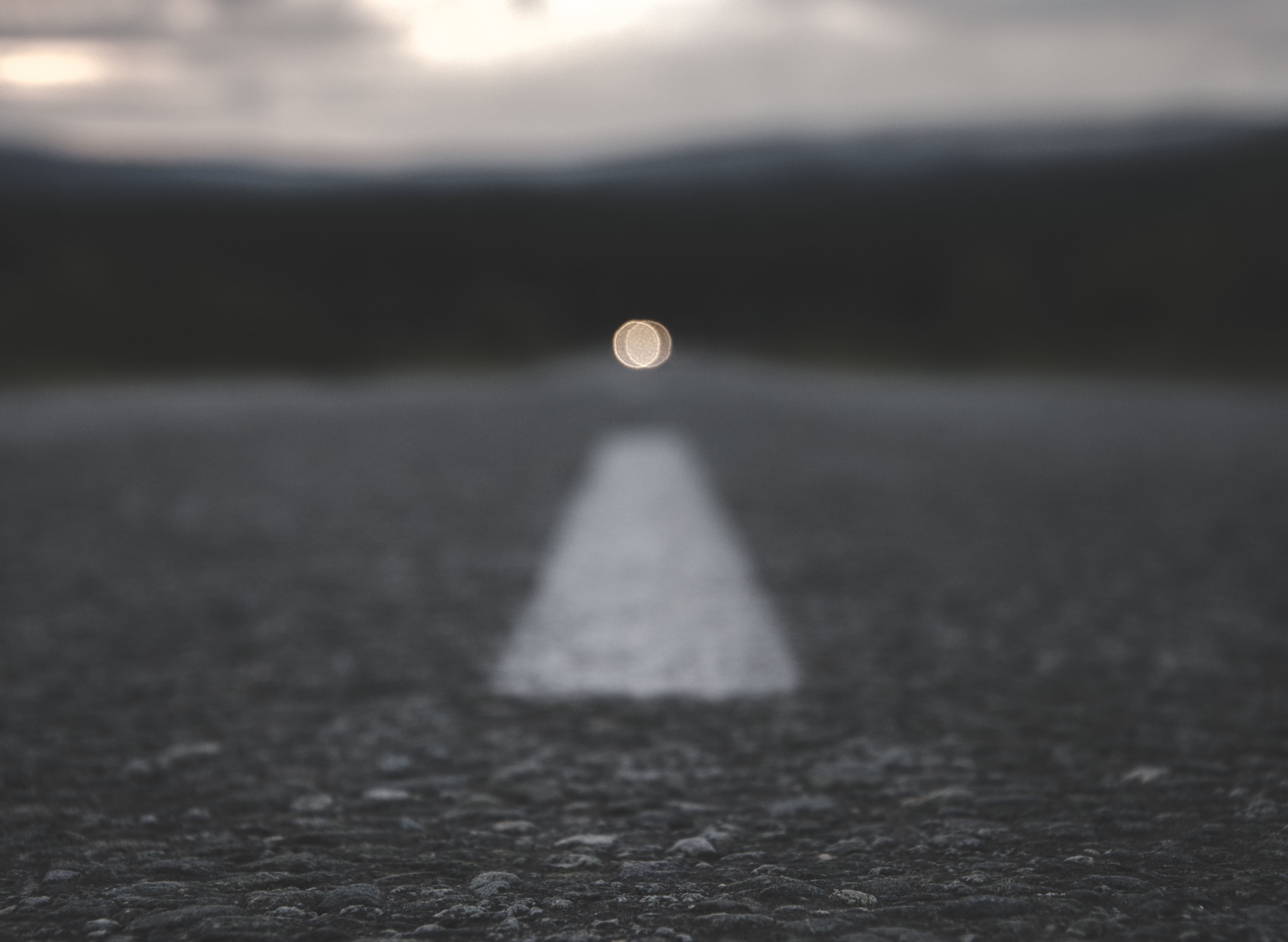 Photo Of Light In Distance
