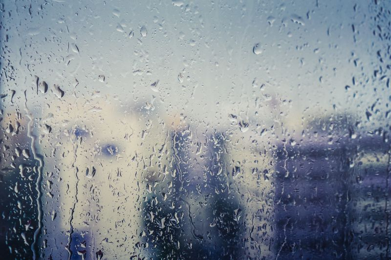 Photo of Rainy Window